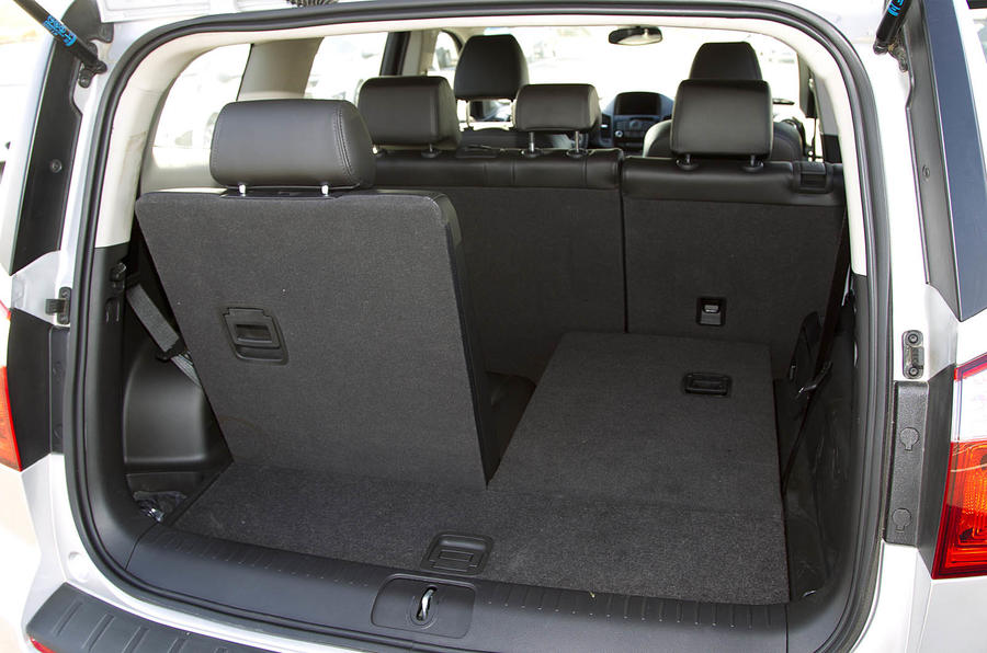 Chevrolet Orlando seating flexibility