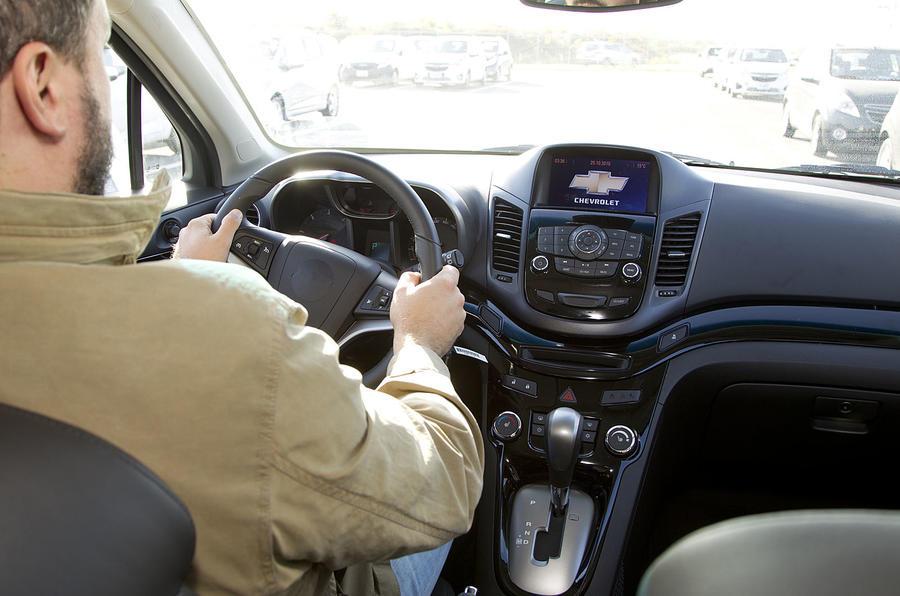 Driving the Chevrolet Orlando