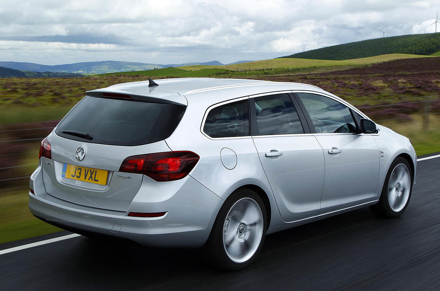 Vauxhall Astra Sports Tourer rear