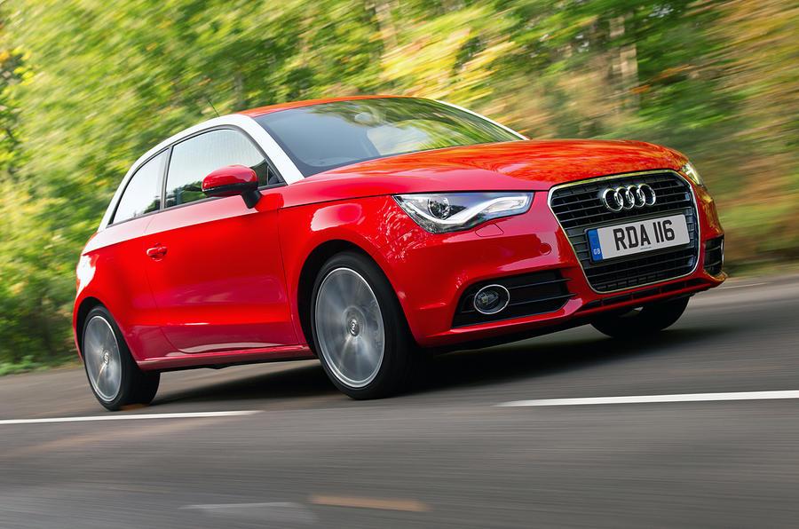 Audi A1 front quarter