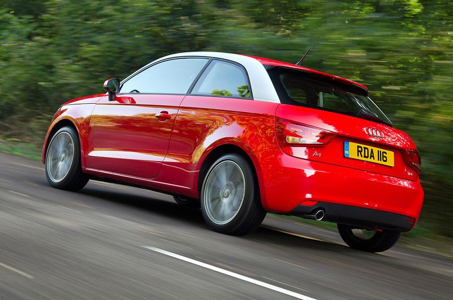 Audi A1 rear quarter