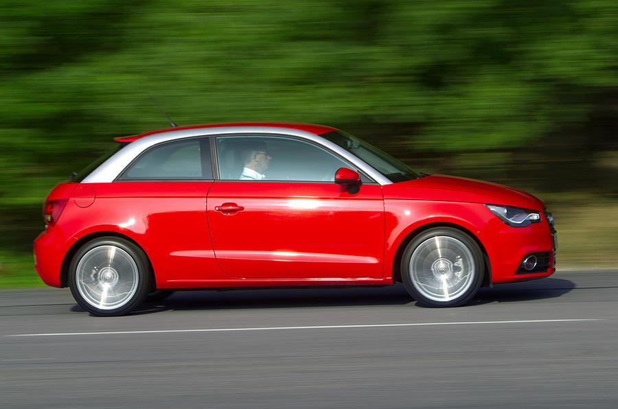 Audi A1 side profile
