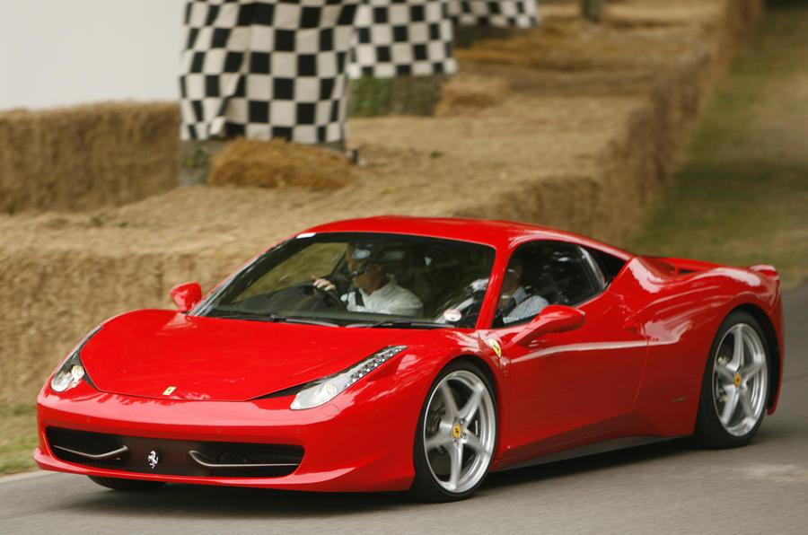 Goodwood: Ferrari 458 UK debut