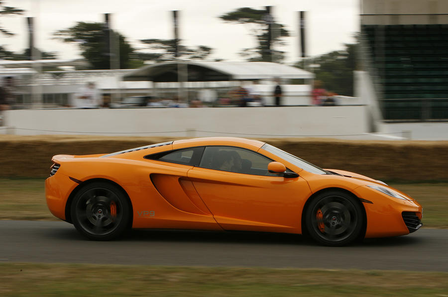 Goodwood: McLaren MP4 launched