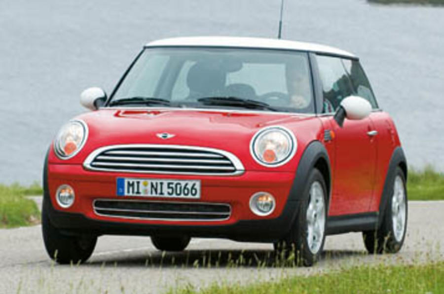 2006 mini cooper 1 6 review autocar. Black Bedroom Furniture Sets. Home Design Ideas