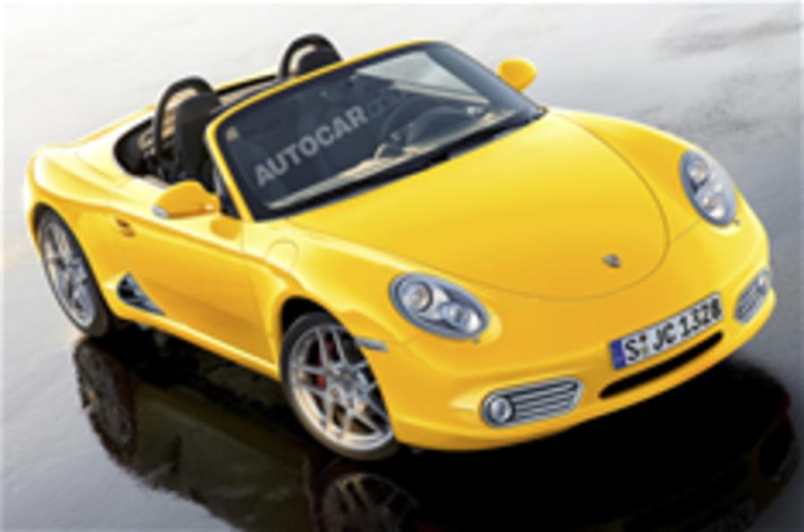 Porsche's new baby Boxster