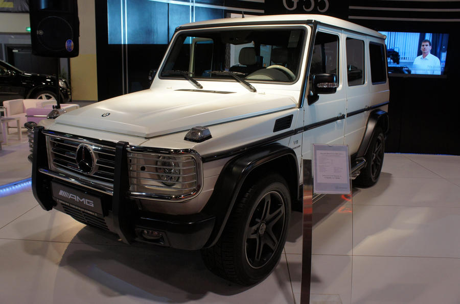 Merc's new G55 AMG special