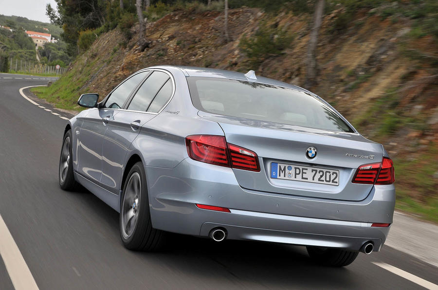 BMW Active Hybrid 5 rear