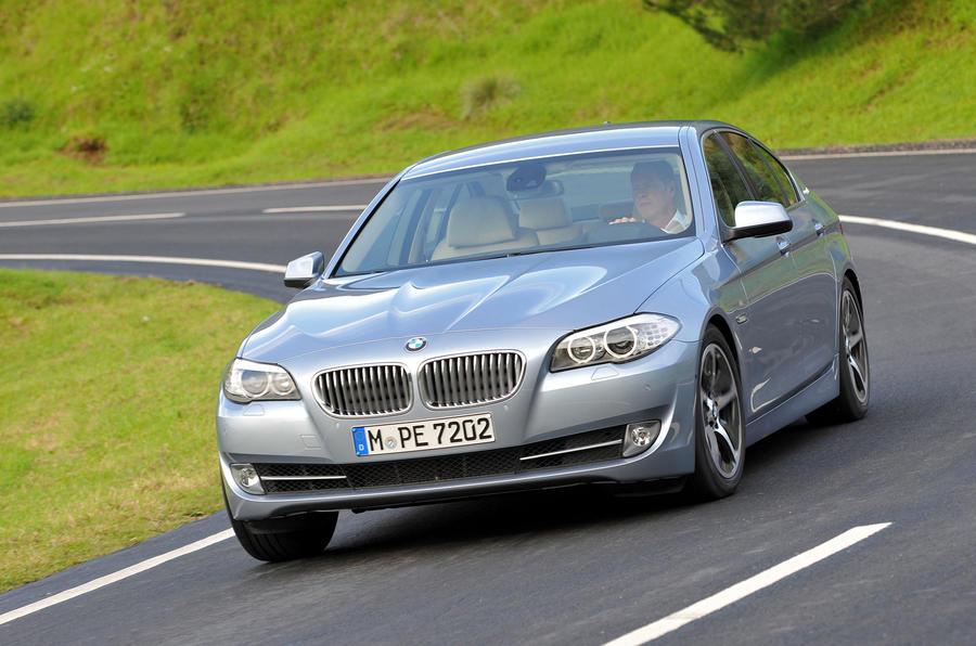 BMW Active Hybrid 5 cornering
