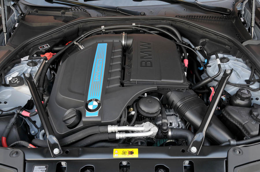 3.0-litre BMW Active Hybrid 5 petrol engine