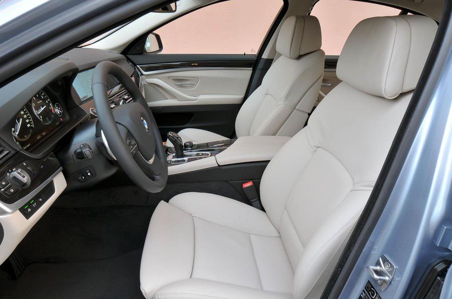 BMW Active Hybrid 5 interior