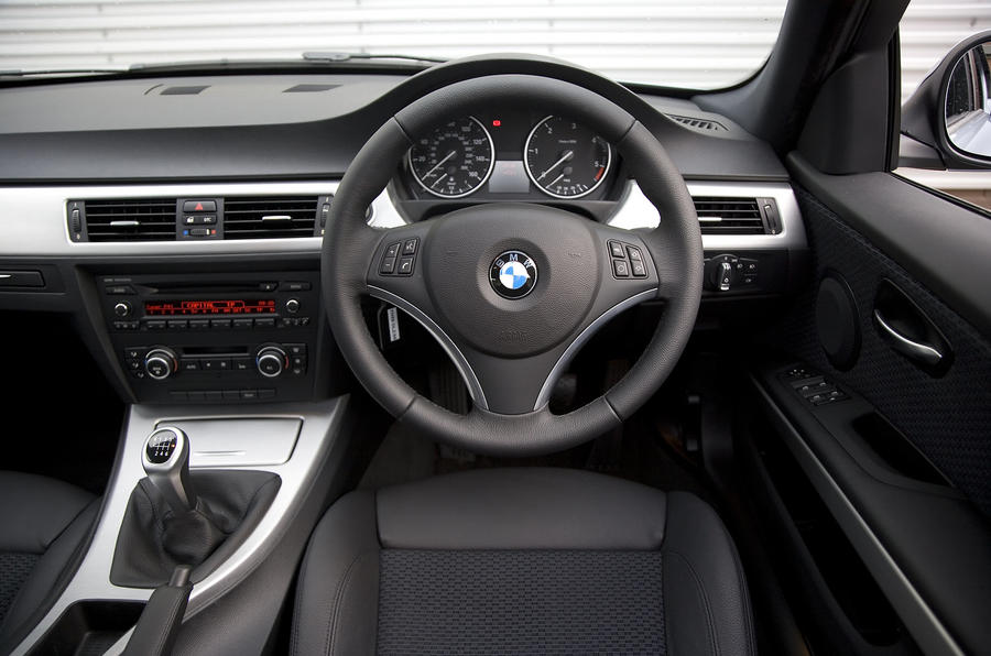 BMW 316d dashboard
