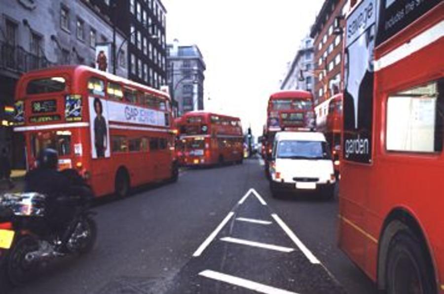 London's Hammersmith flyover closed