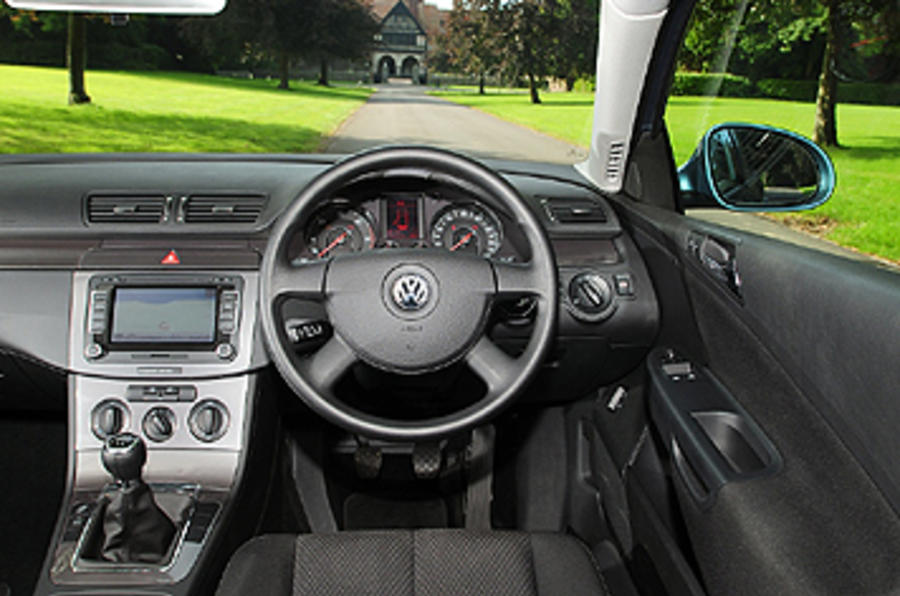 VW Passat dashboard