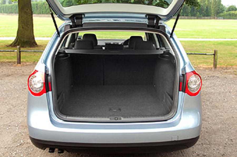 VW Passat boot space