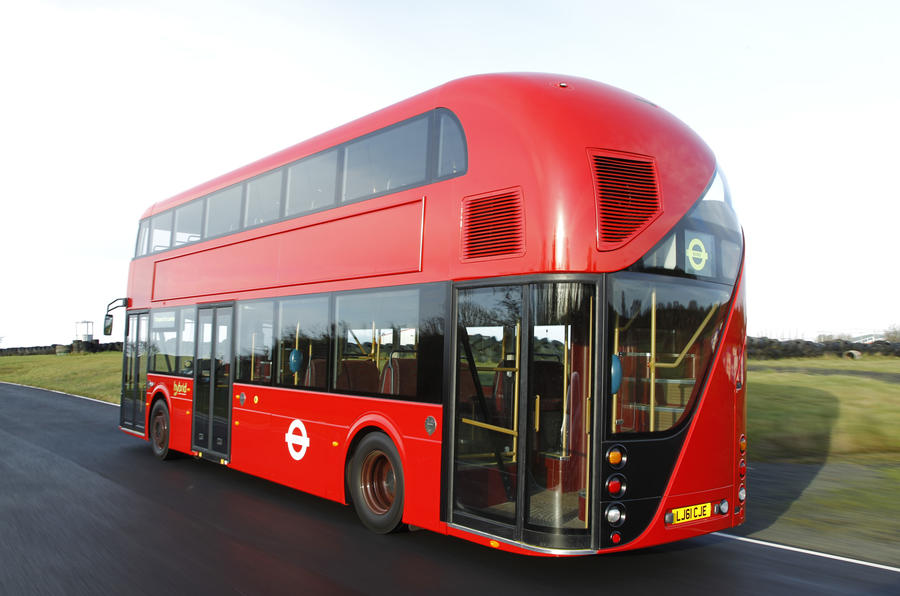 New London bus enters service