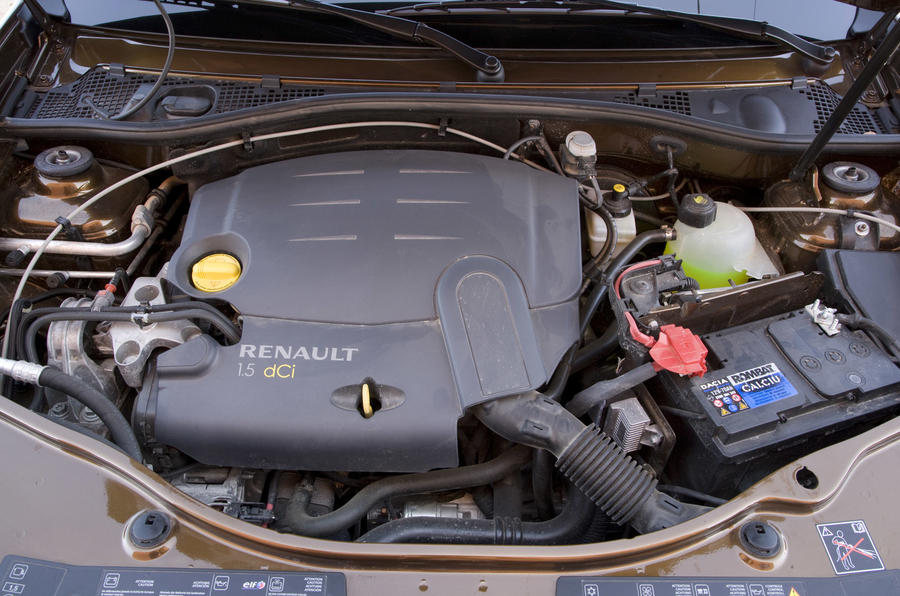 1.5-litre dCi Dacia Duster engine