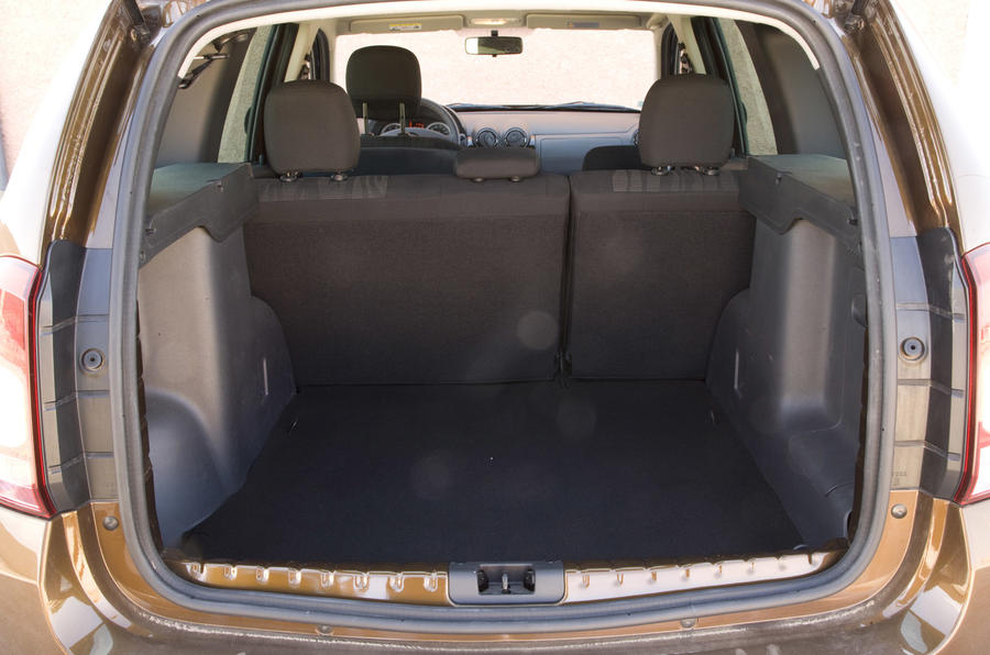 Dacia Duster boot space