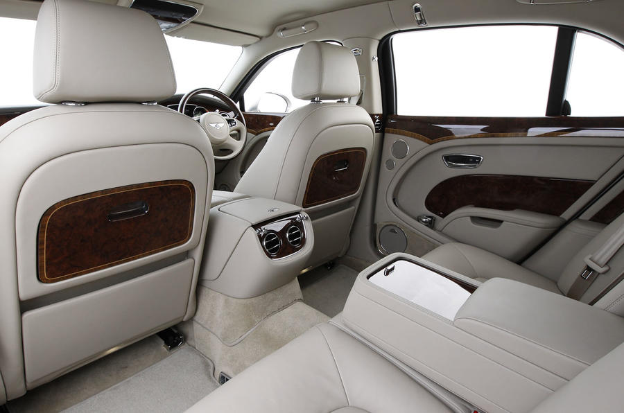 Bentley Mulsanne foldaway tables