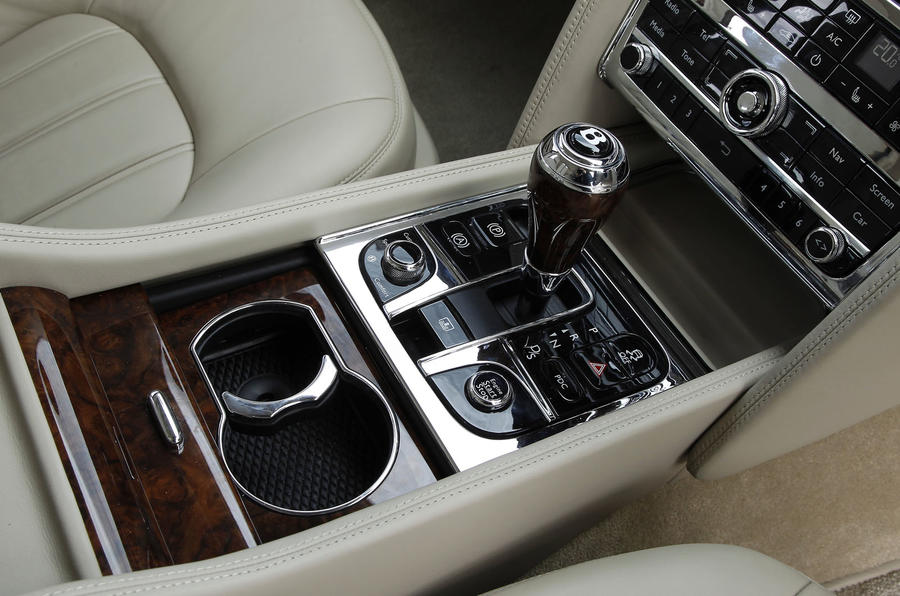 Bentley Mulsanne centre console