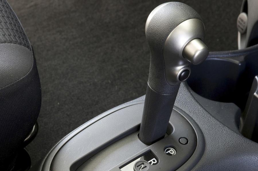 Nissan Micra 1.2 CVT gearbox