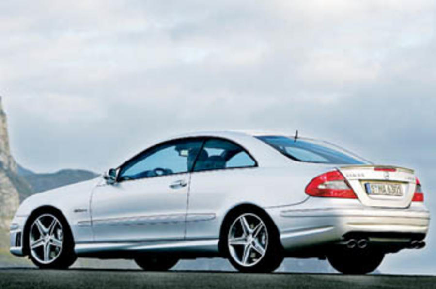 Mercedes-Benz CLK63 AMG Coupe