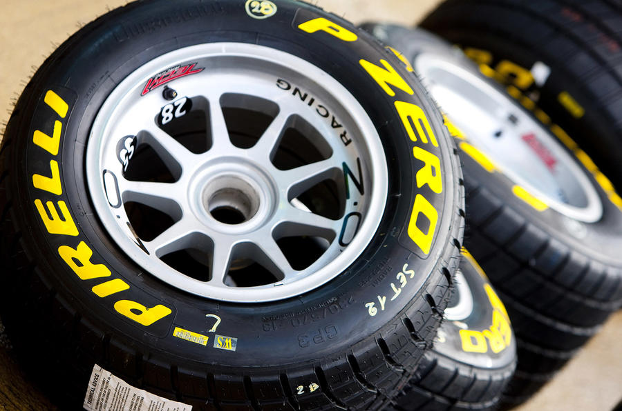 Pirelli set for F1 tyre supply
