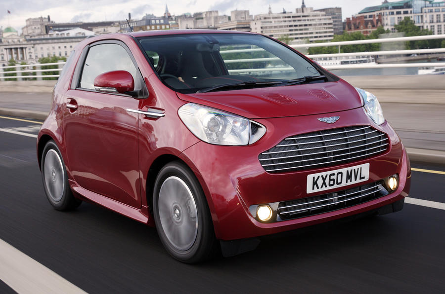 aston martin cygnet cvt first uk drive. Black Bedroom Furniture Sets. Home Design Ideas