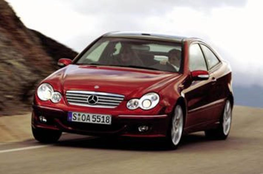 Mercedes c230k sports coupe review autocar for Benz sport katalog