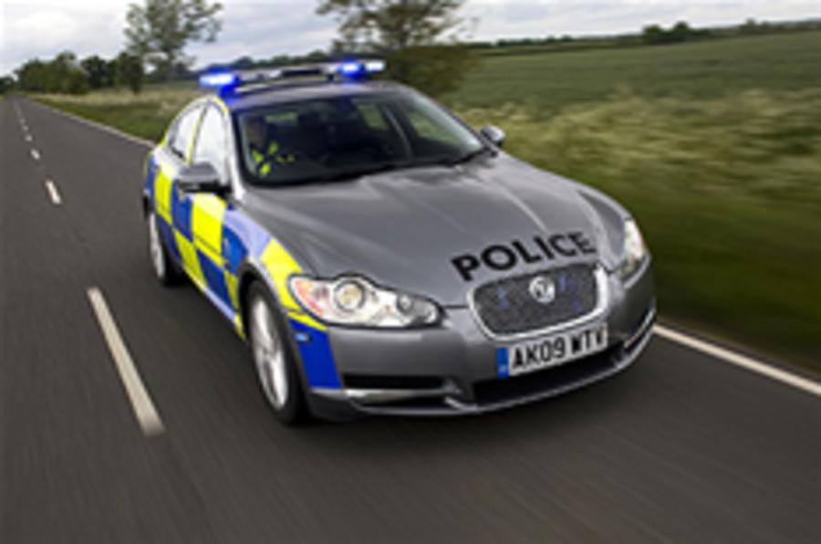 Jaguar police car launched