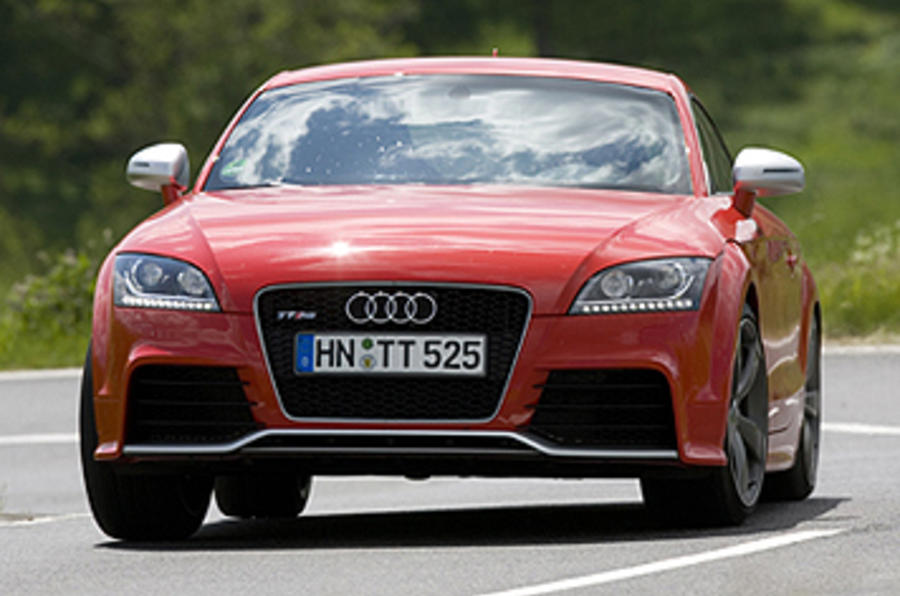 Audi TT RS 2.5 Coupe cornering