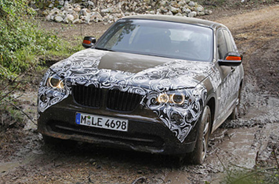 BMW X1 xDrive23d prototype