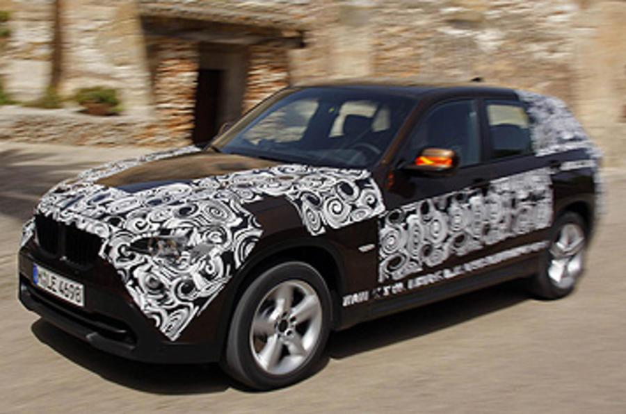 BMW X1 xDrive23d prototype