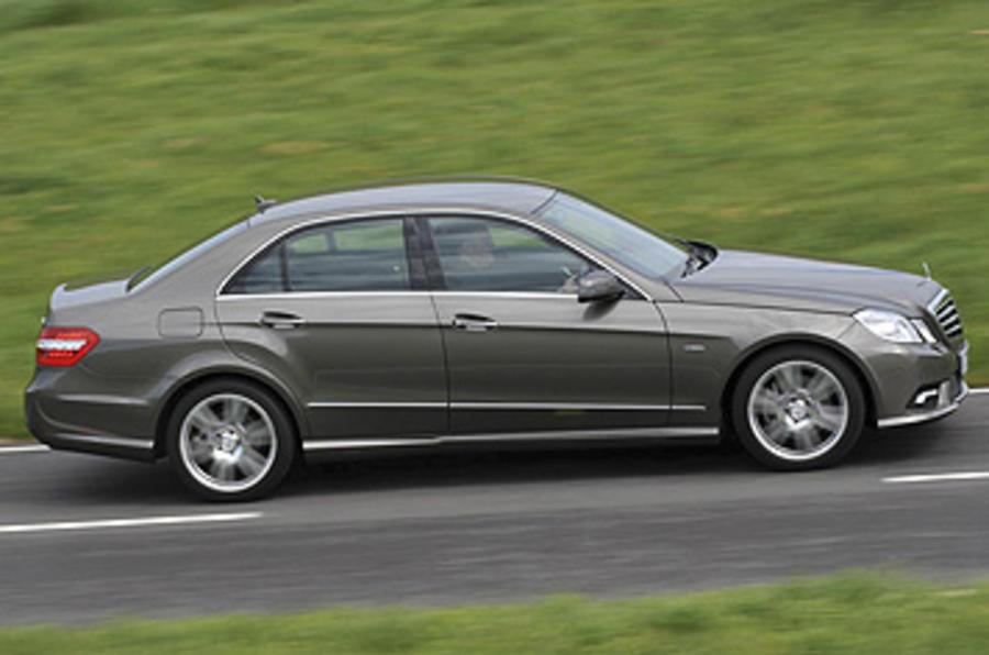 Mercedes E220 CDI Sport side profile