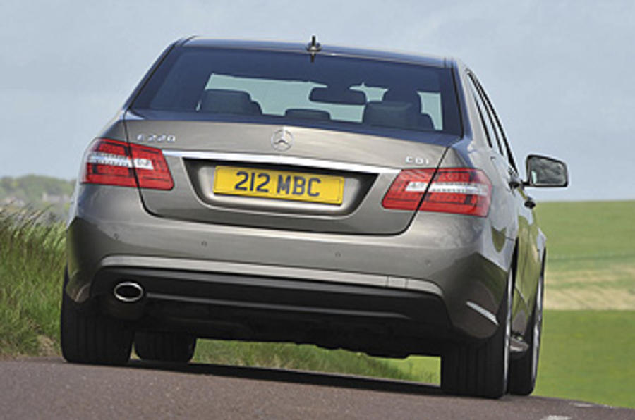 Mercedes E220 CDI Sport rear end