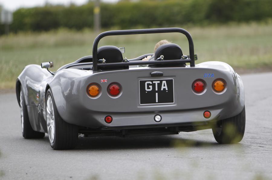 Tiger GTA rear cornering