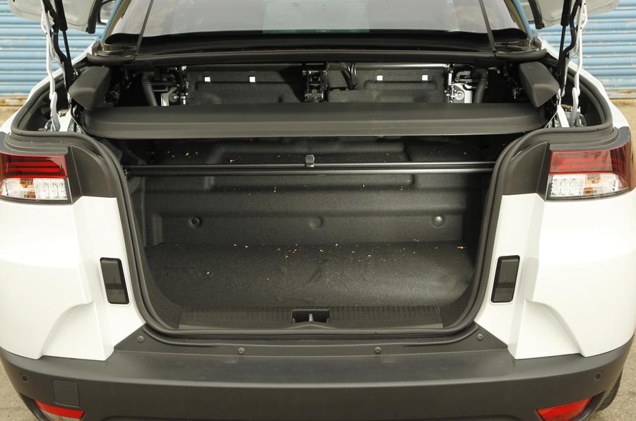 Renault Megane CC boot space