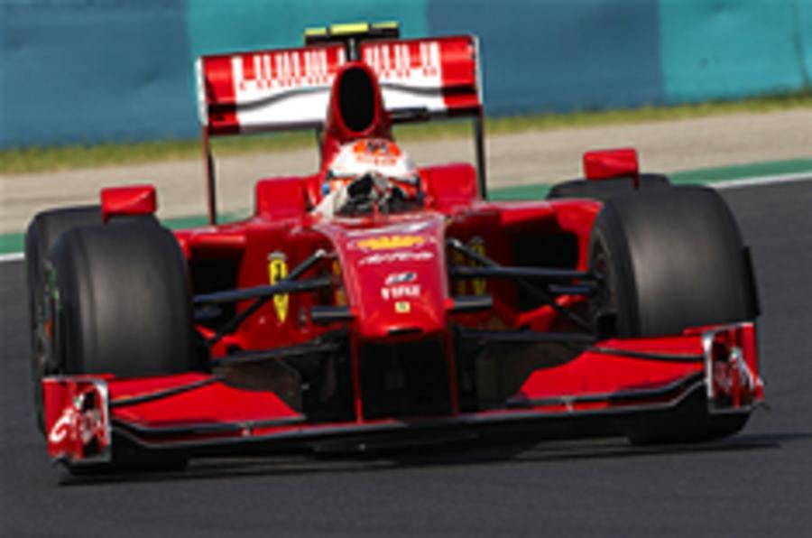 Ferrari gets Santander, not Alonso