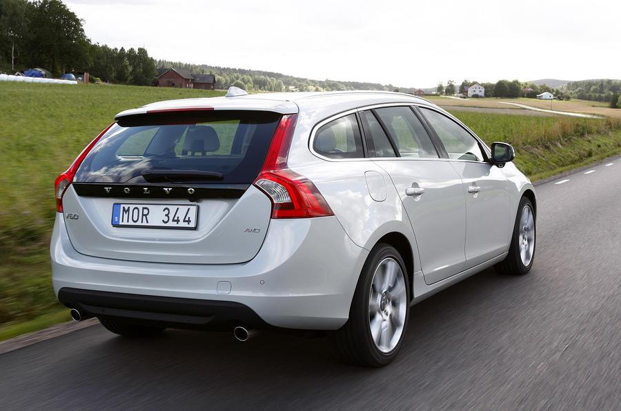 Volvo V60 rear end