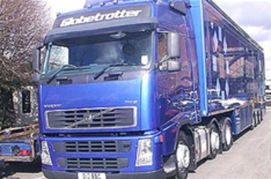 Traffic chaos as hauliers strike