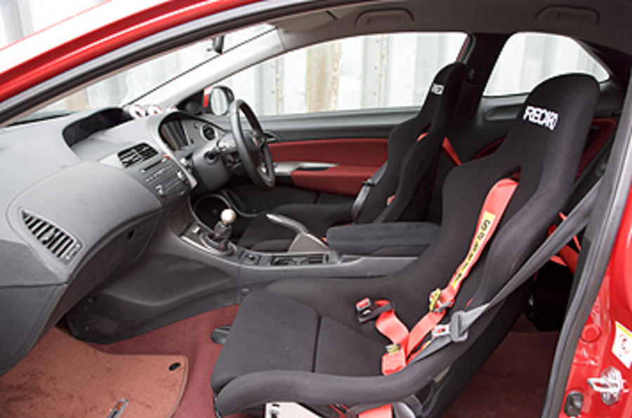 Honda Civic Type R Mugen interior