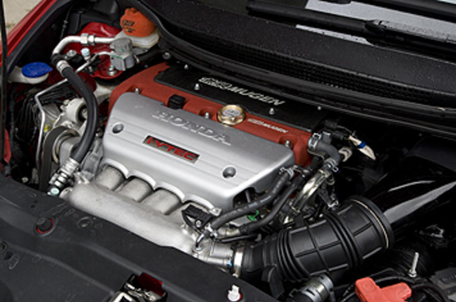 Honda Civic Type R Mugen engine