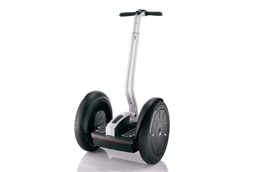 Segway boss dies riding Segway