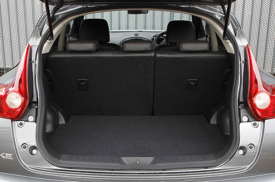 Nissan Juke boot space