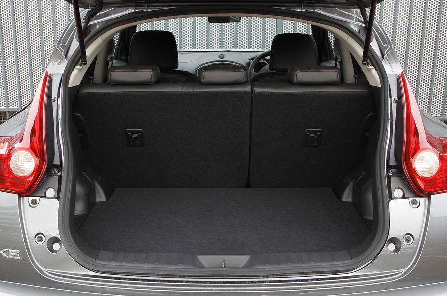 Nissan Juke boot space