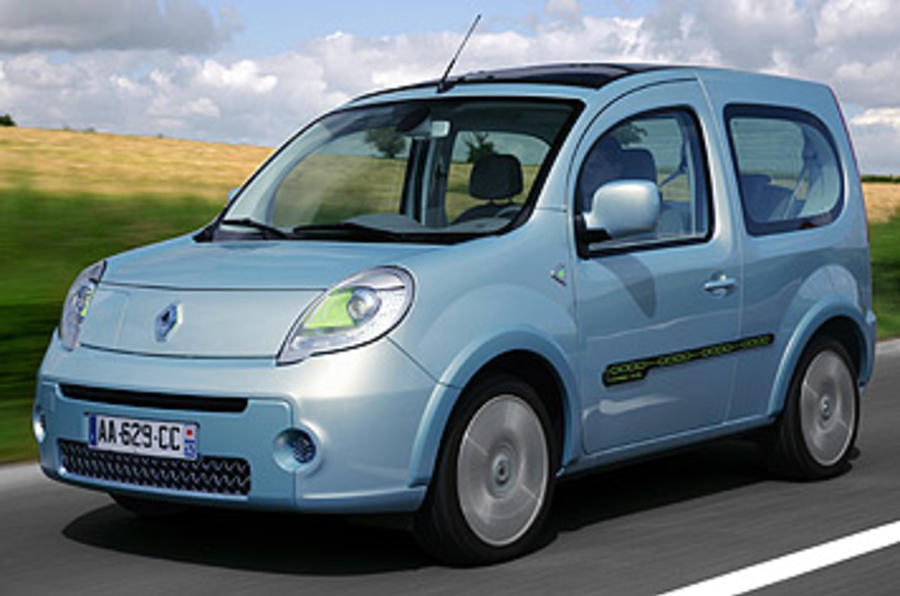 renault kangoo be bop z e 44kw review autocar. Black Bedroom Furniture Sets. Home Design Ideas