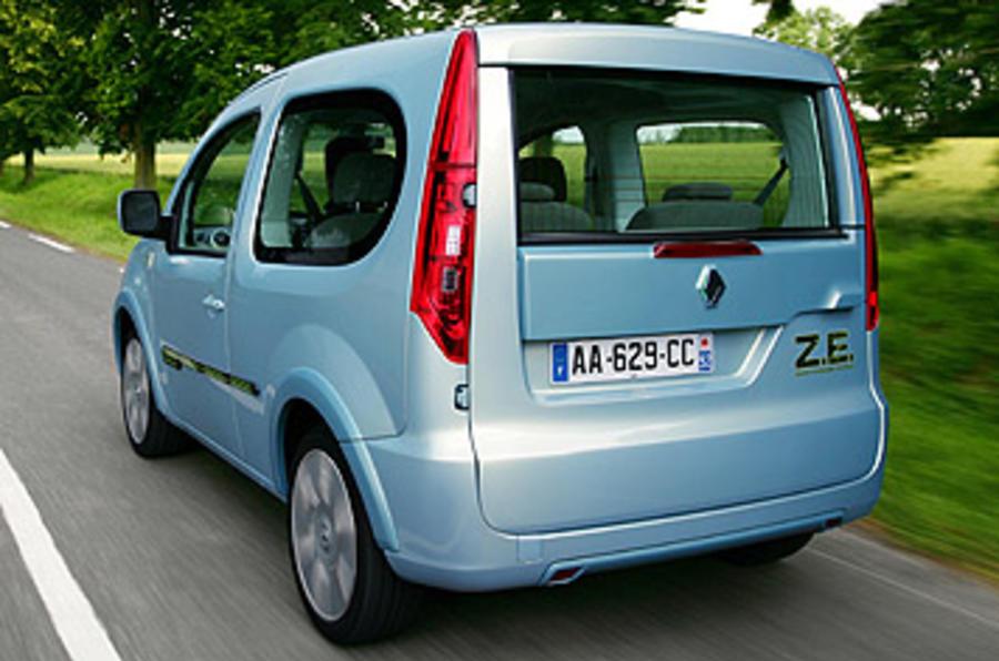 Renault Kangoo Be Bop Ze 44kw Review Autocar