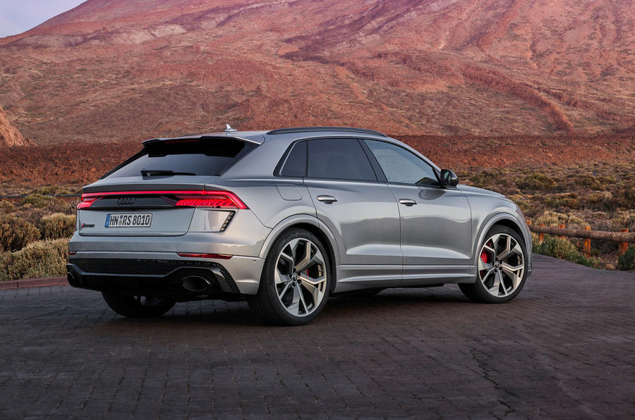Audi RS Q8 2020 road test review - static rear