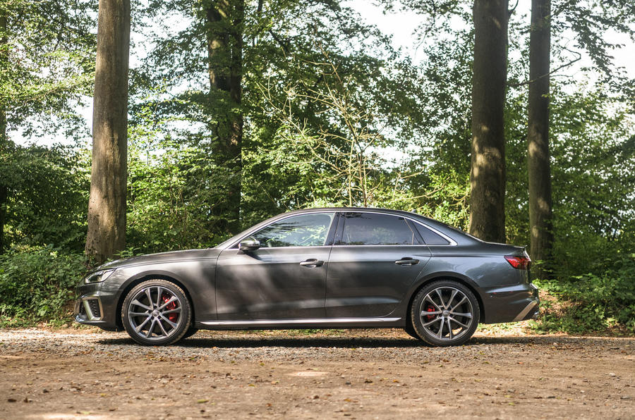 Audi S4 TDI 2019 road test review - static side
