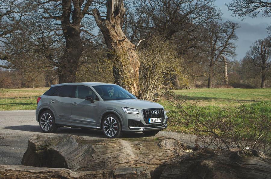 Audi SQ2 2019 road test review - static